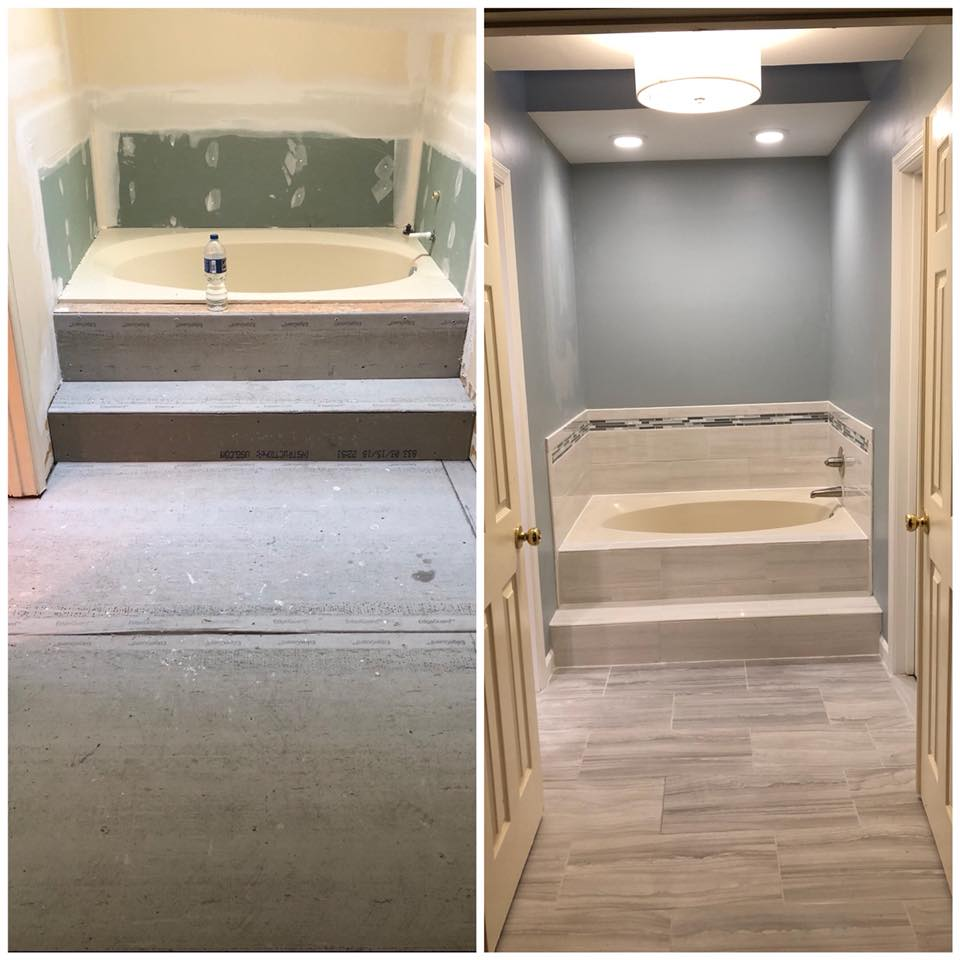 Custom Shower & Bathroom Remodel In Maryland